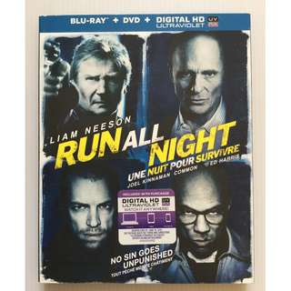 Run All Night Blu Ray + DVD