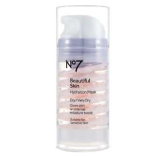 Boots No7 Beautiful Skin Hydrating Mask