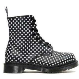 Doc Martens Polkadot Boots