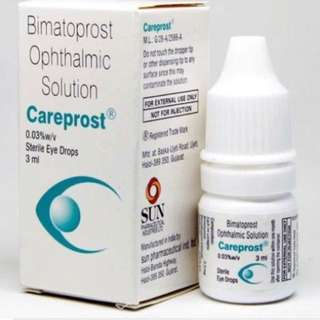 Careprost Eyelash Enhancement. FREE Anti Ageing Mask (while stocks last)