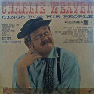 Charlie Weaver, Vinyl LP, used, 12-inch original USA pressing