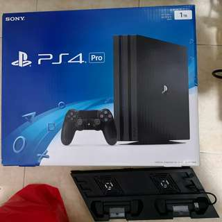 PS4 Pro with Cooling Fans