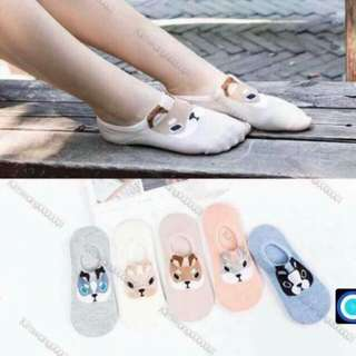 Animal Cotton Ankle Sock
