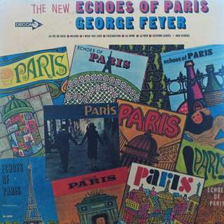 Echoes of paris, Vinyl LP, used, 12-inch original USA pressing