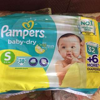SMALL Pampers Baby Dry