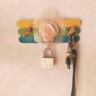 Shell Key Holder