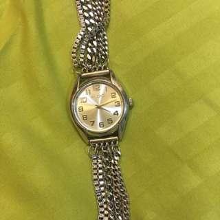 Aldo Silver Chain Watch