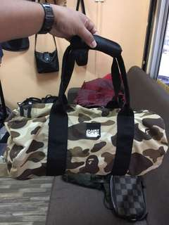 CNY SALE!Authentic A Bathing Ape Duffel Bag