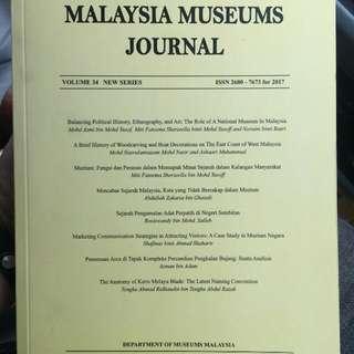 Malaysia Museum Journal Volume. 34 (New Series)