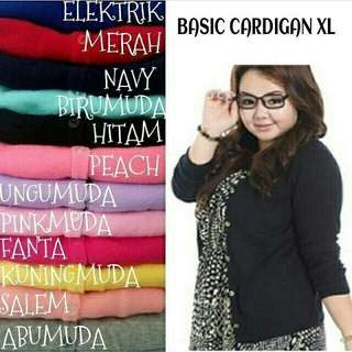 vf BASIC CARDIGEL XL TERMURAH
