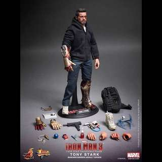 1/6 全新 hot toys iron man tony stark the mechanic 鐵甲奇俠 普通版 mms209