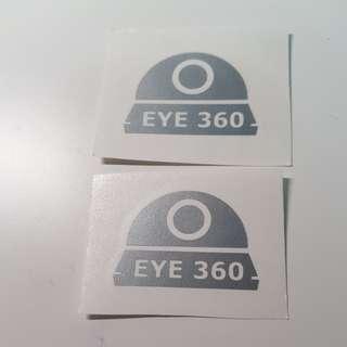 Precautionary Anti Thief Anti Sabotage Sticker