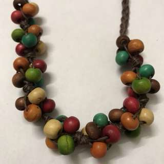 Casual party colourful necklace