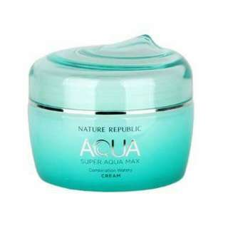 Aqua for face moisturizing cream and night