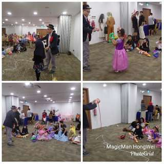 Children Comedy Magician (Call 96413170 to Learn more)