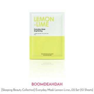 Boom De Ah Dah Mask | Eveeyday Mask Lemon Lime
