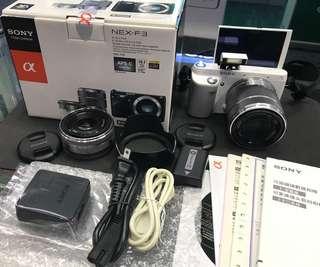 Sony Nex F3 twin len