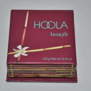 Benefit HOOLA Bronzing Powder 4g TRAVEL SIZE Bronzer Compact With Mirror & Brush BRAND NEW & AUTHENTIC (PRICE IS FIRM)