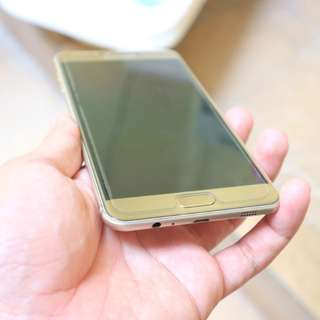 Samsung galaxy c7 gold hp ces