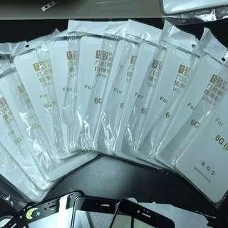 Iphone 6s 透明薄保護套 case (11個)