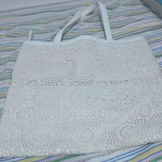 米白色大袋