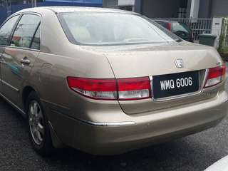Honda Accord 2.4 Auto 2005