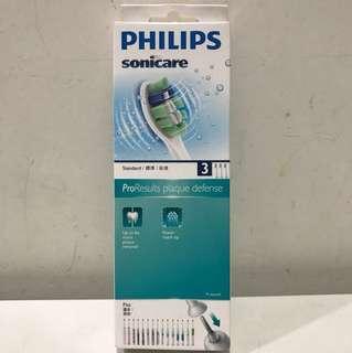 ✨全新包郵✨PHILIPS HX9023 清除牙菌膜刷頭 3支裝