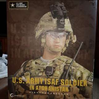 2 x 1/6 Scale Crazy Dummy US Army Soldier In Afghanistan