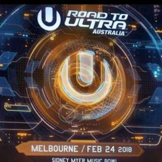 2 x Ultra Music Festival Tickets