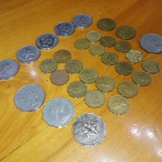 珍貴收藏 大少港元硬幣 女皇頭