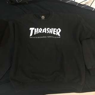 Thrasher Crewneck Logo BLACK