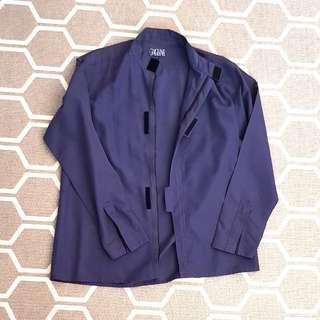 Branded designer shirt jacket