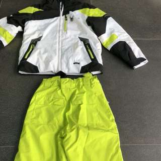 Boys' SPYDER Ski Jacket & Pants in size 8