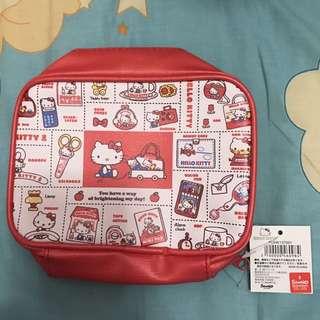Hello Kitty 日本限定 化妝袋 筆袋