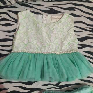 Gown from bird and bees size 2-3 year old