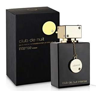 Armaf Club De Nuit Intense Woman EDP for Women 105ml (Tom Ford Noir De Noir Clone) Black