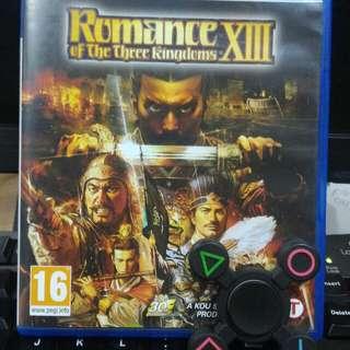[PS 4] Romance of The Three Kingdom XIII
