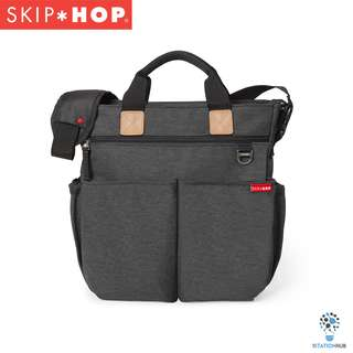 Skip Hop Duo Signature Diaper Bag - Soft Slate [BG-SH200327]