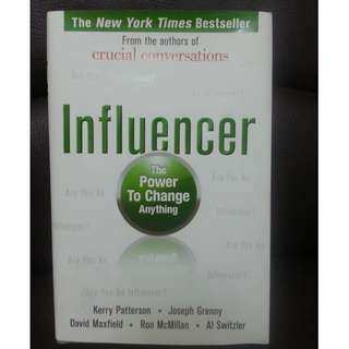 "Book on ""Influencer"""