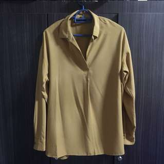 MIGHTY MARCH'18 SALE-UNIQLO RAYON BLOUSE