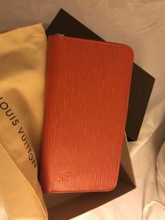 Louis Vuitton Zippy Wallet ORANGE