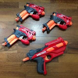 Nerf Mega Hot Shot & Big Shot