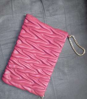 Sossy Red Clutch