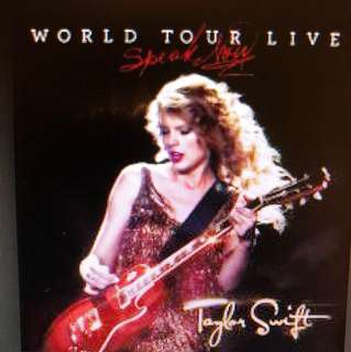 Taylor Swift: World Tour Live -Blu Ray