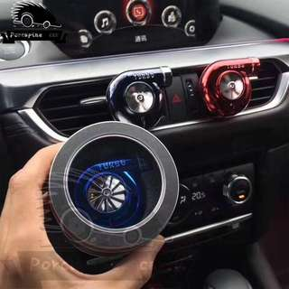 2017 new mini-car turbocharged model Car Perfume Original Perfume Car Air Freshener Car Air Conditioner Ventilation Clip