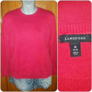 Land's End Knitted Pullover Top