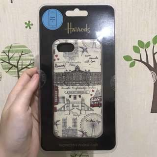 Harrods Sketched London Iphone 7 Case