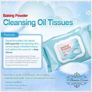 ETUDE HOUSE Baking Powder Pore Cleansing Tissue 30 Sheets