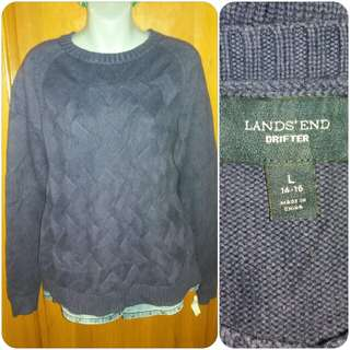 Land's End Knitted Pullover