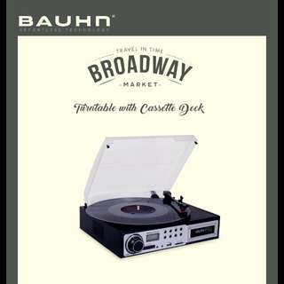 Turntable with Casette player Bauhn Broadway Market 44062